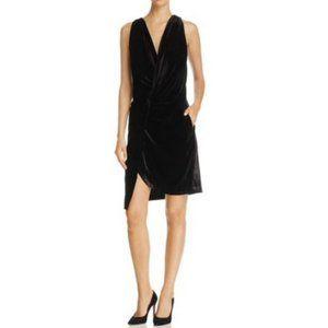 NWTS Kenneth Cole Twist Front Velvet Mini Dress